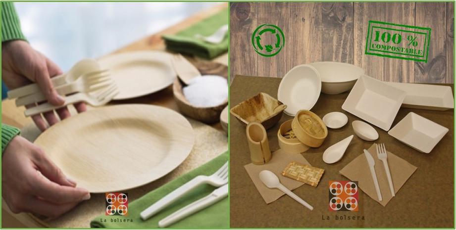 1. Materiales reciclables, biodegradables y compostables
